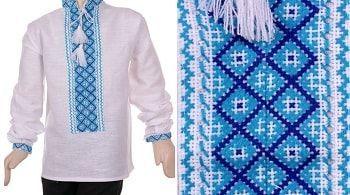 Вишиванка для хлопчика колір синій — купити в Україні  4e50e188a812e