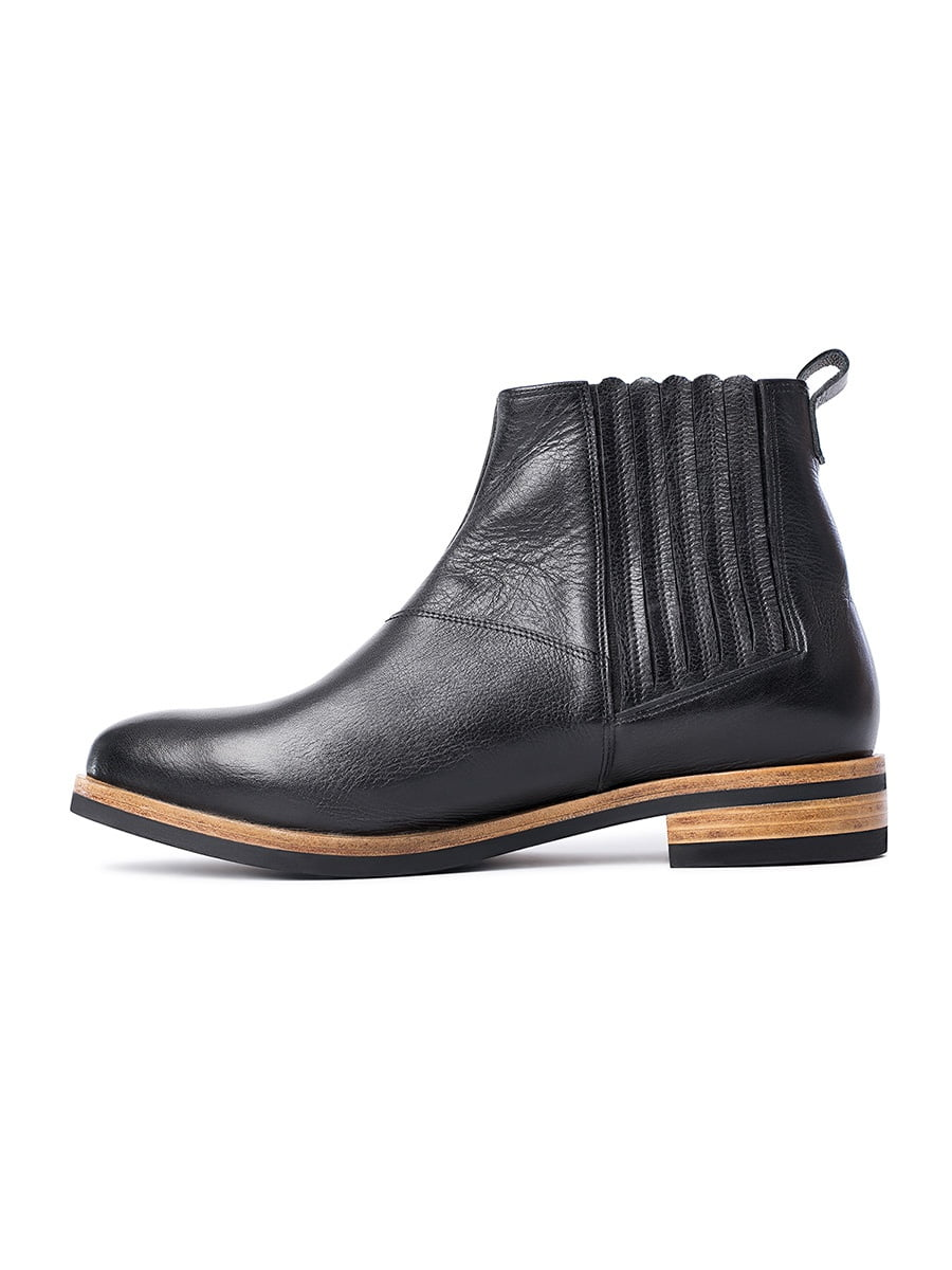 Ankle boots LEE Black