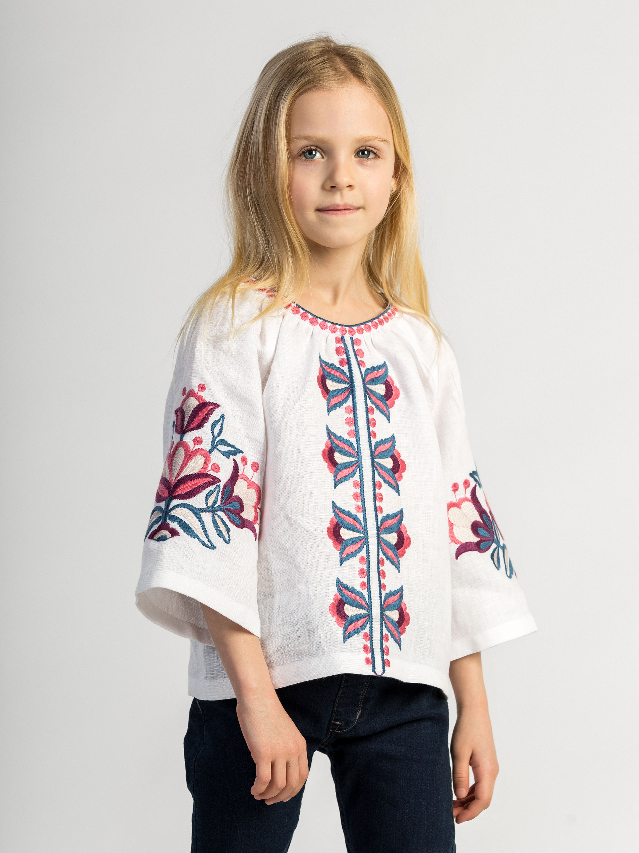 Embroidery for girls Bright Kids