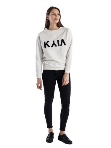 Women sweatshirt KYIV milk