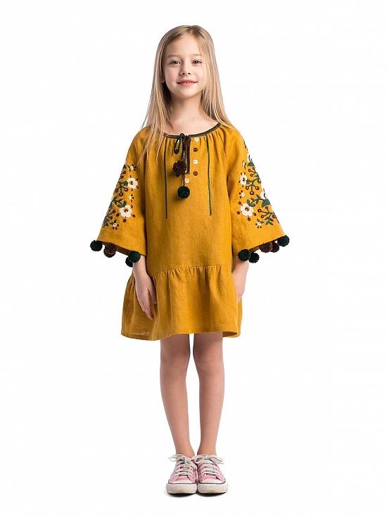 Дитячі вишиті плаття  купити дитячі вишиванки плаття для дівчинки ... 226a3962e2ff0