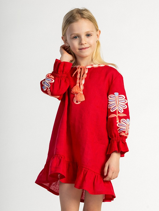 78045a26dcdbf8 Дитячі вишиті плаття: купити дитячі вишиванки плаття для дівчинки ...