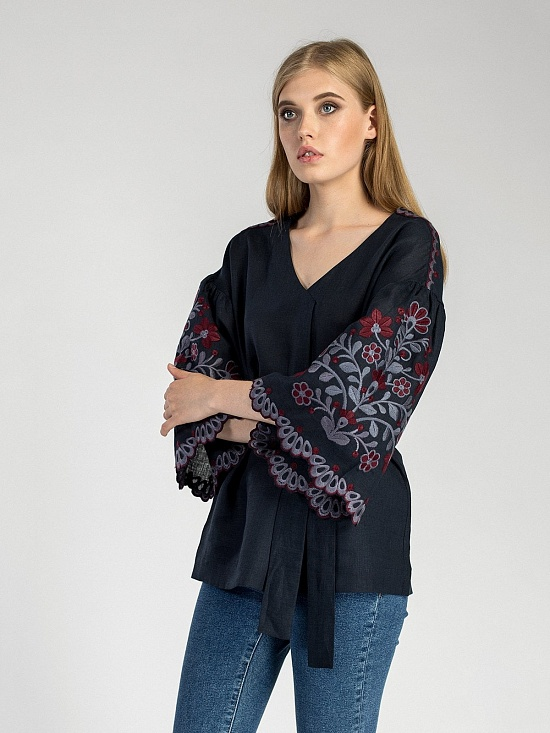 Жіночі вишиванки рукав 3 4 рукав — купити в Україні  9fee6407f5fcc