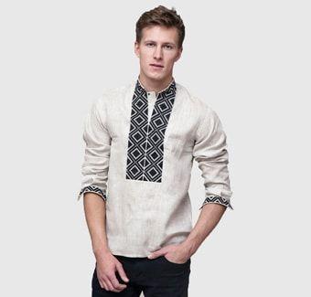 Вишиванки та вишиті сорочки для чоловіків