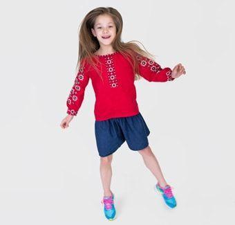 Вишиванки та вишиті сорочки для дітей