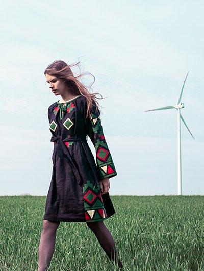 дизайнерські вишиті сукні 8