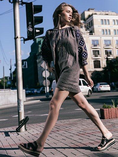 дизайнерські вишиті сукні 9