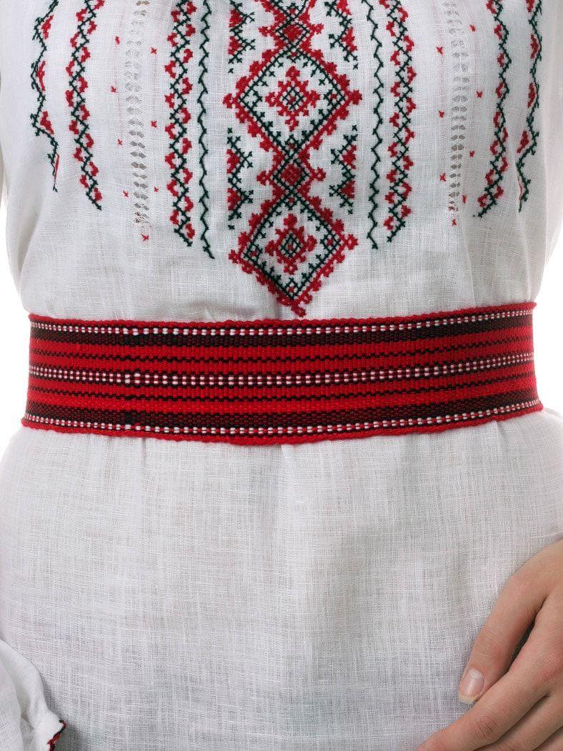 Вишиті плаття з довгим рукавом Фото 13