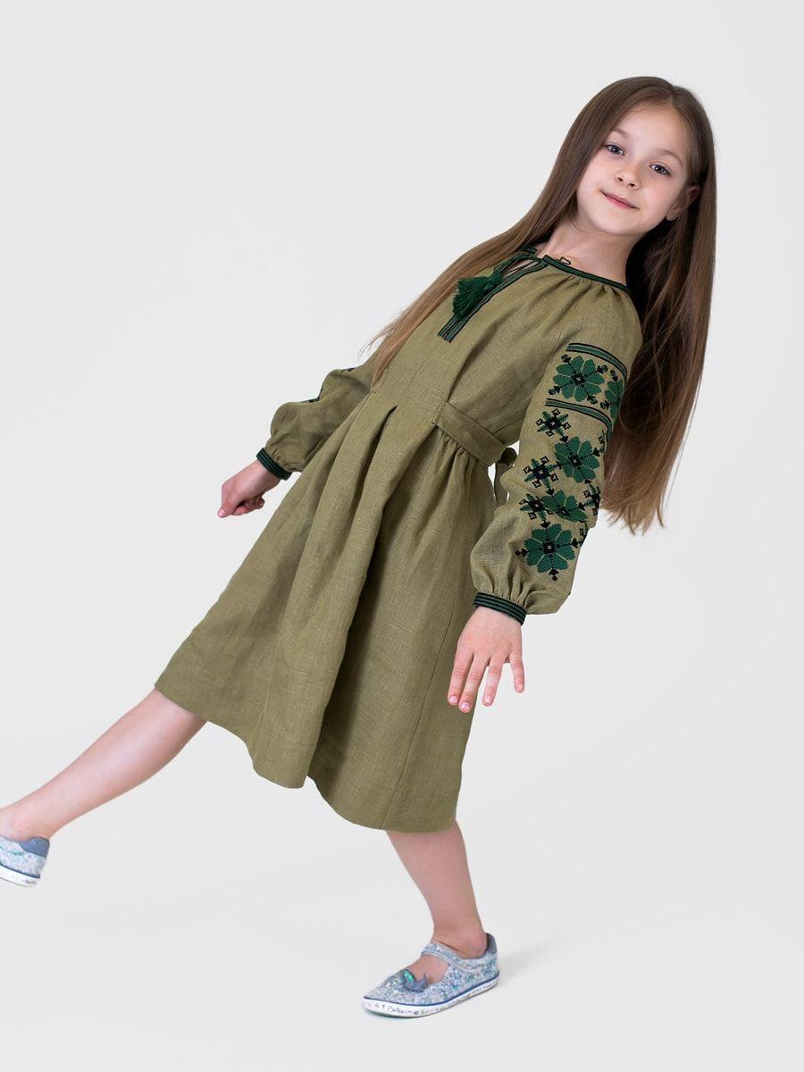 Дитячі вишиті плаття колір жовтий — купити в Україні  e6f02a4740a52