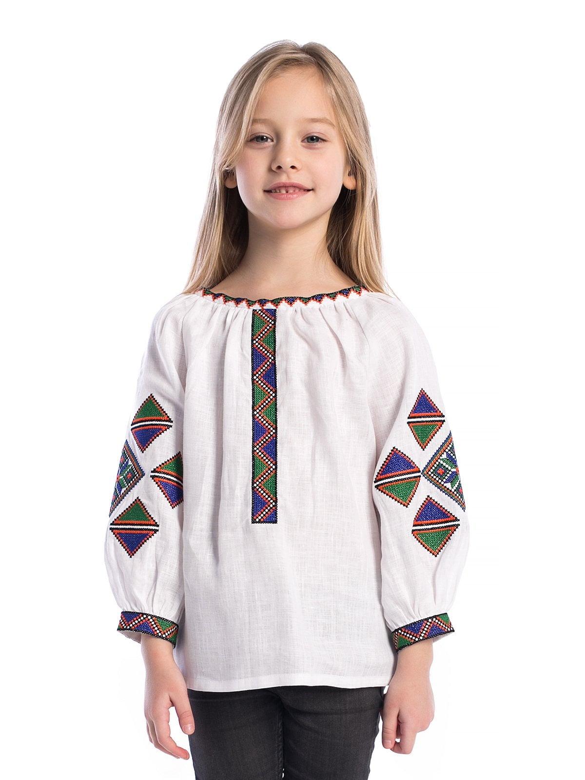 Вышиванка для девочки Smile 4 – купить в Киеве и Украине  78b0691e7962d