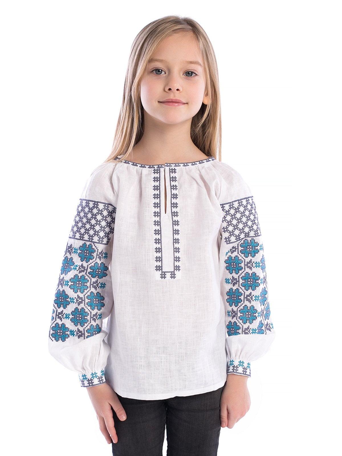 Вышиванка для девочки Smile 5 – купить в Киеве и Украине  a2274c86acb1f