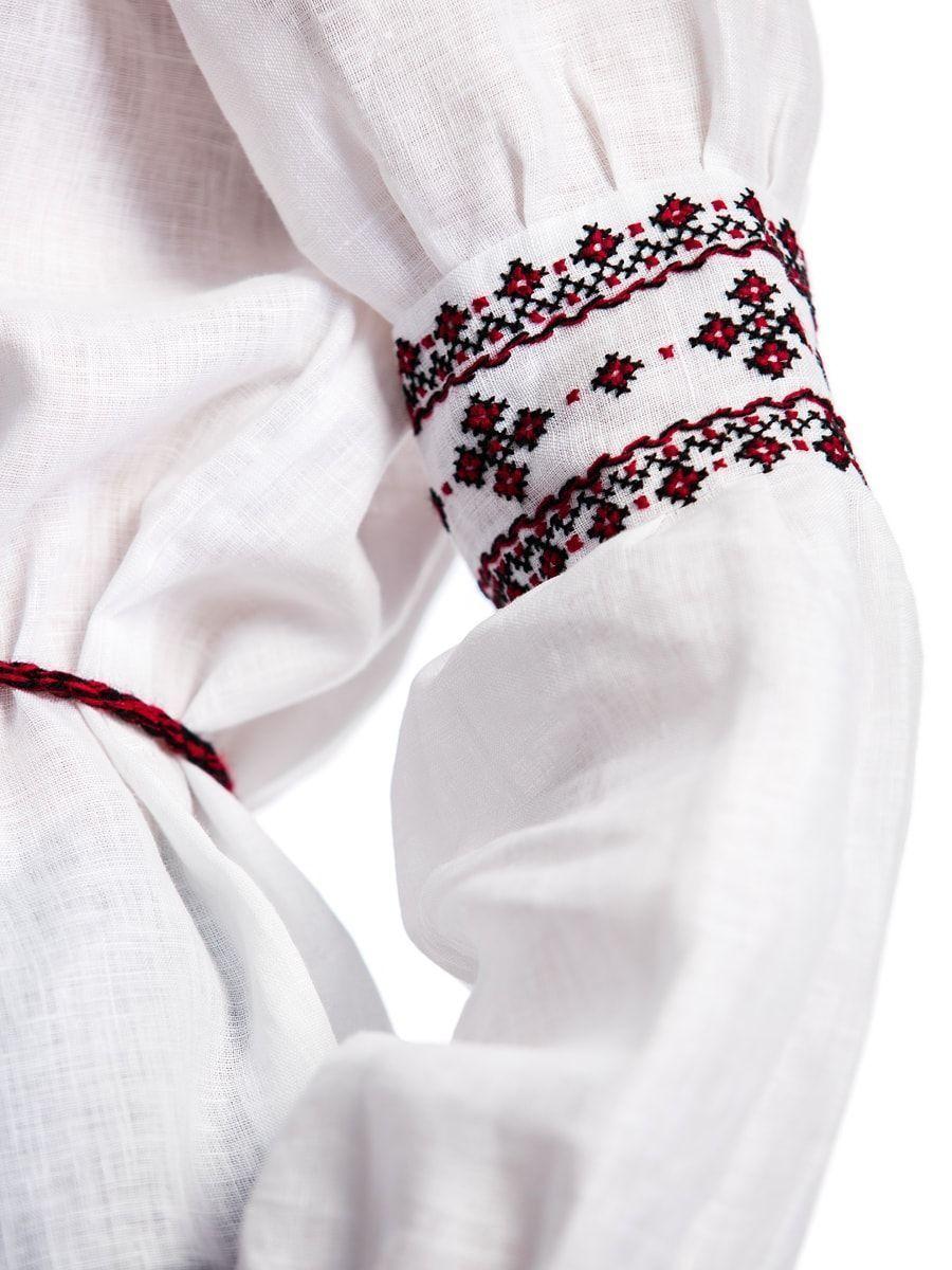Женская вышиванка ручной работы с манжетами С13 Фото 4