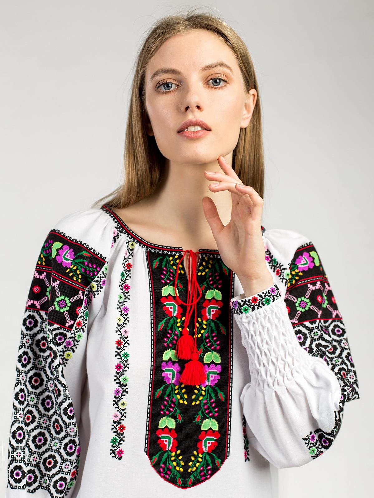 Борщевская женская вышиванка ручной работы Аб2 Фото 2