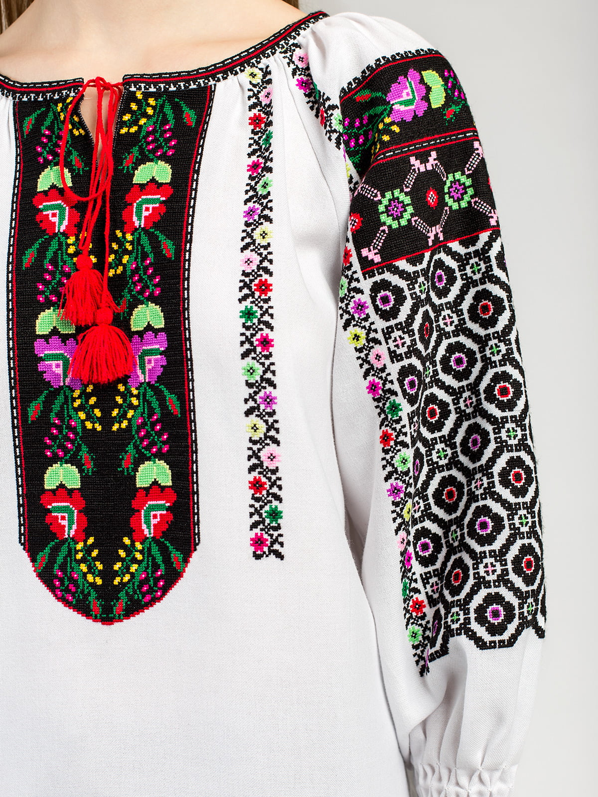 Борщевская женская вышиванка ручной работы Аб2 Фото 5