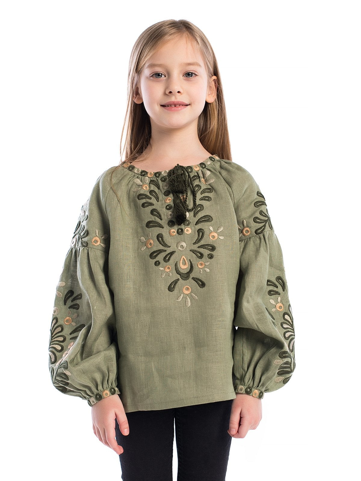 Вышиванка для девочки Greenwood Kids – купить в Киеве и Украине ... cefe0b6667f06