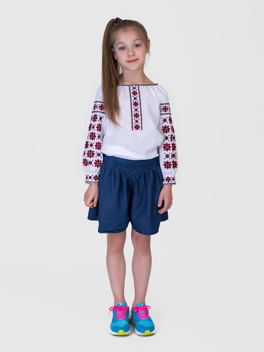 Детские вышитые платья для девочек
