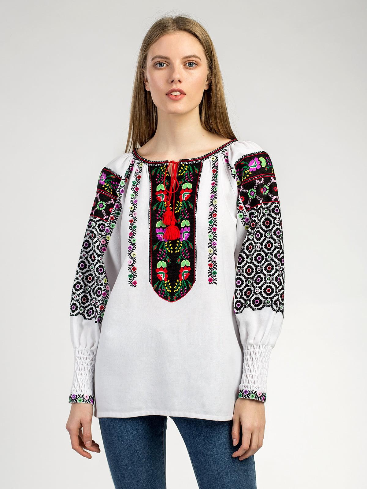 9573a6bb8f5919 Борщевская женская вышиванка ручной работы Аб2 – купить в Киеве и ...