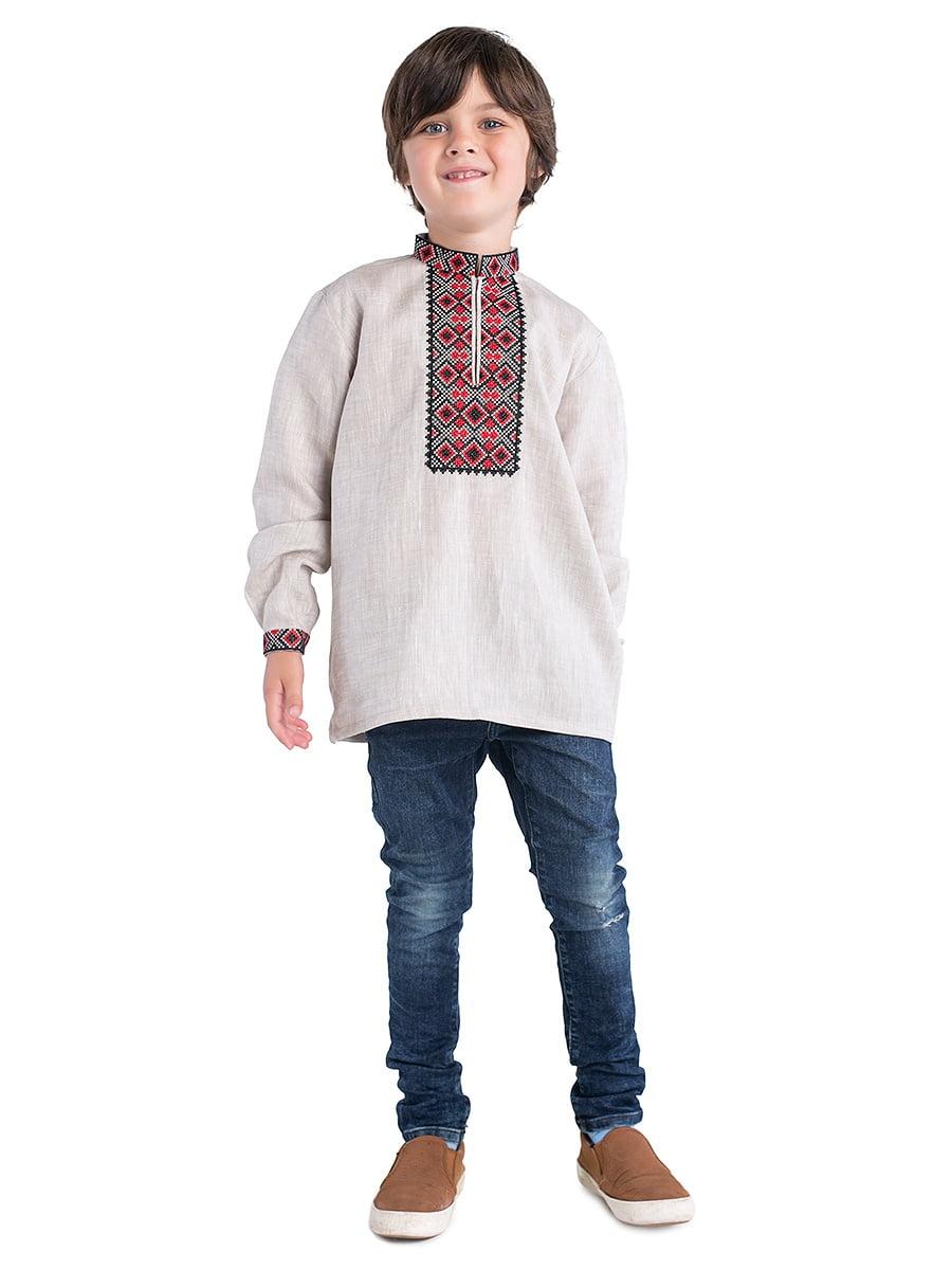 Хлопчача вишиванка K23 – купити в Києві та Українi  3dc27063d3a55