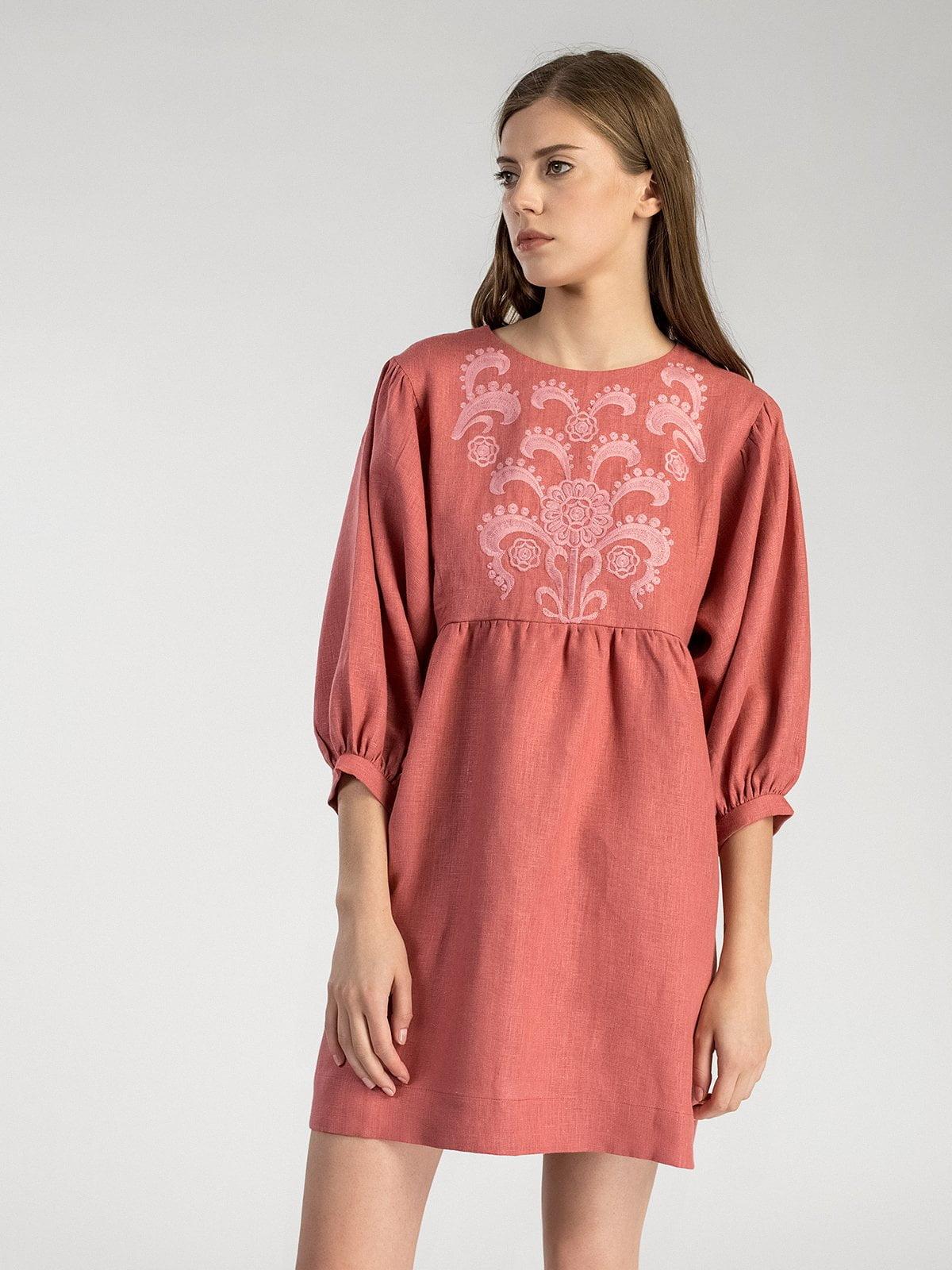 Лляна сукня з вишивкою Sun Light – купити в Києві та Українi  d41a41d406b03